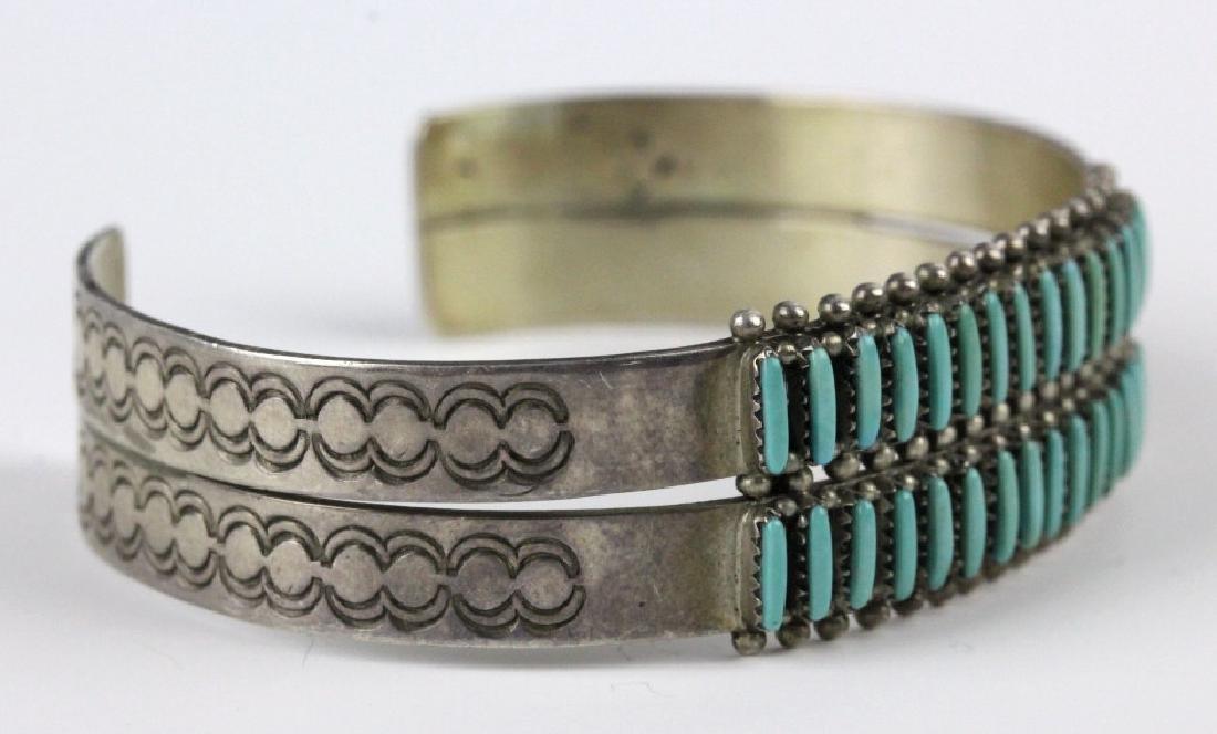G. Acque Zuni Indian Needle Petit Point Bracelet - 3