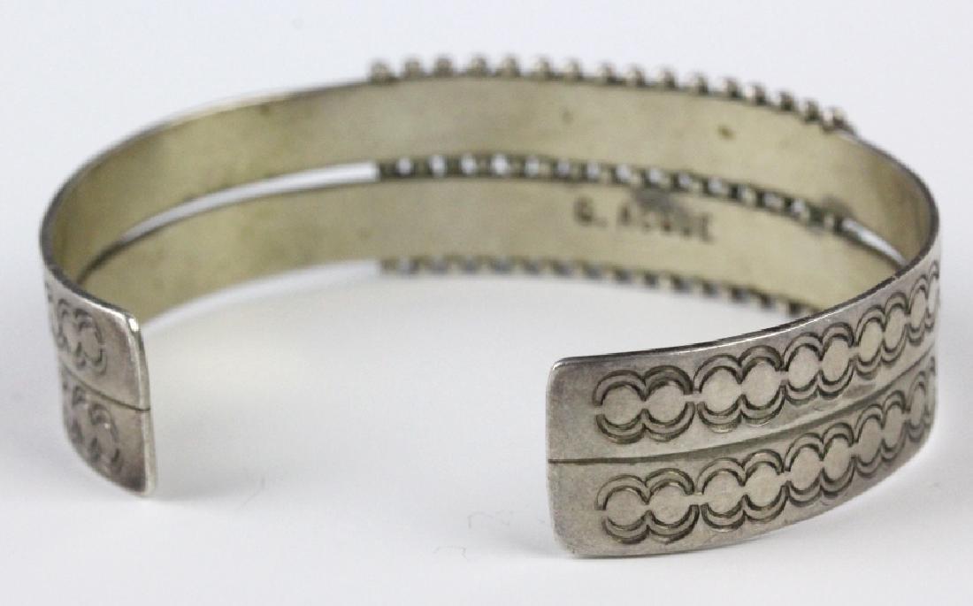 G. Acque Zuni Indian Needle Petit Point Bracelet - 6