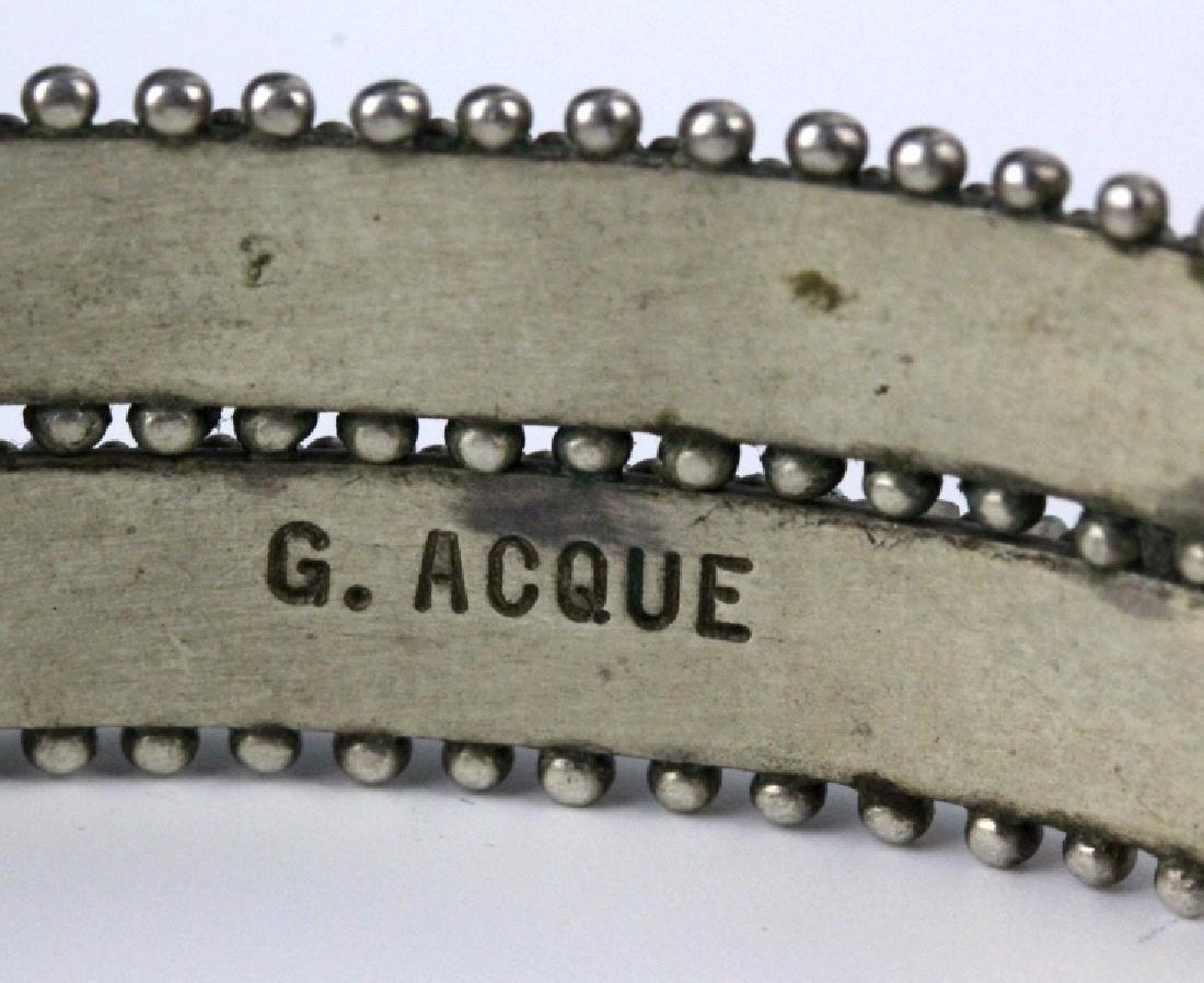 G. Acque Zuni Indian Needle Petit Point Bracelet - 7