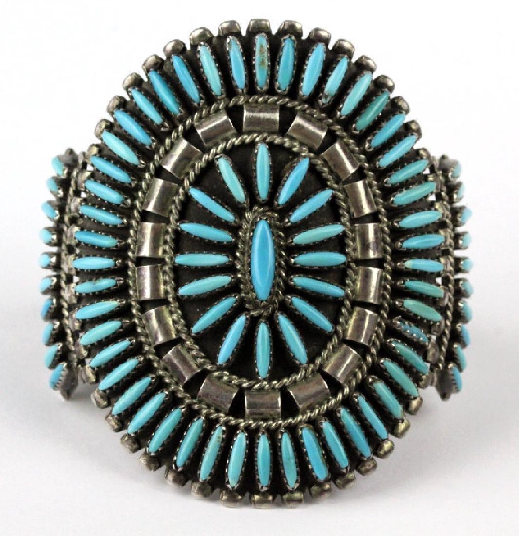 Native American Indian Needle Petit Point Bracelet