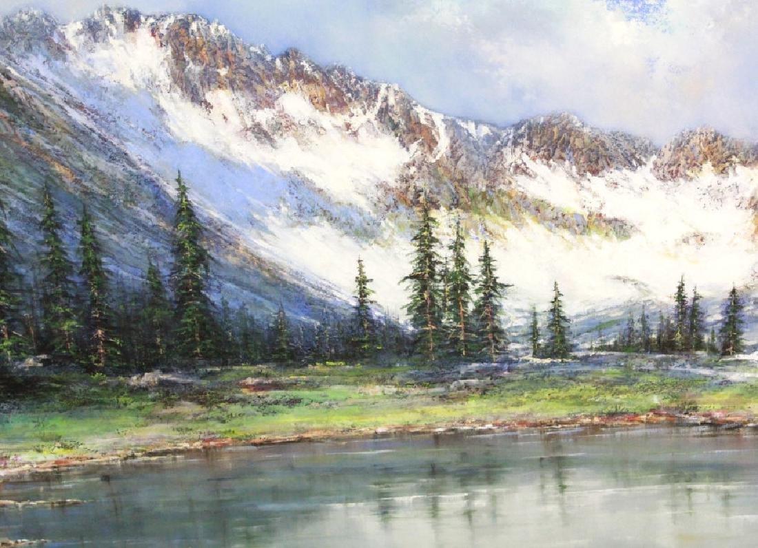 MARIO KONTNY Colorado Mountain Landscape Painting - 3