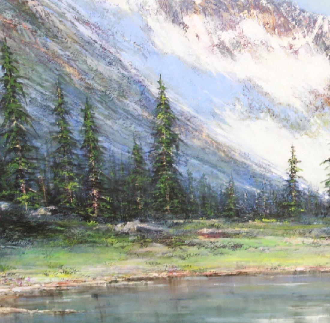 MARIO KONTNY Colorado Mountain Landscape Painting - 5