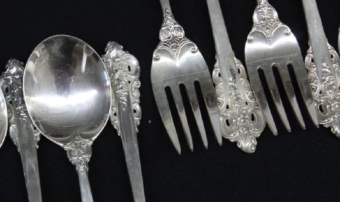 261pcs Wallace Grand Baroque Sterling Silver SET - 10