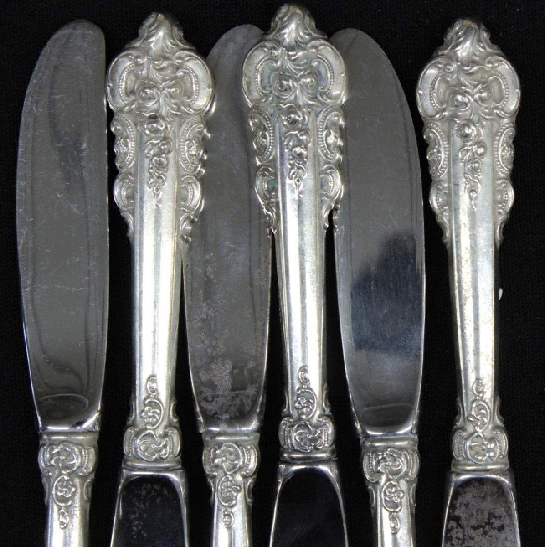 261pcs Wallace Grand Baroque Sterling Silver SET - 7