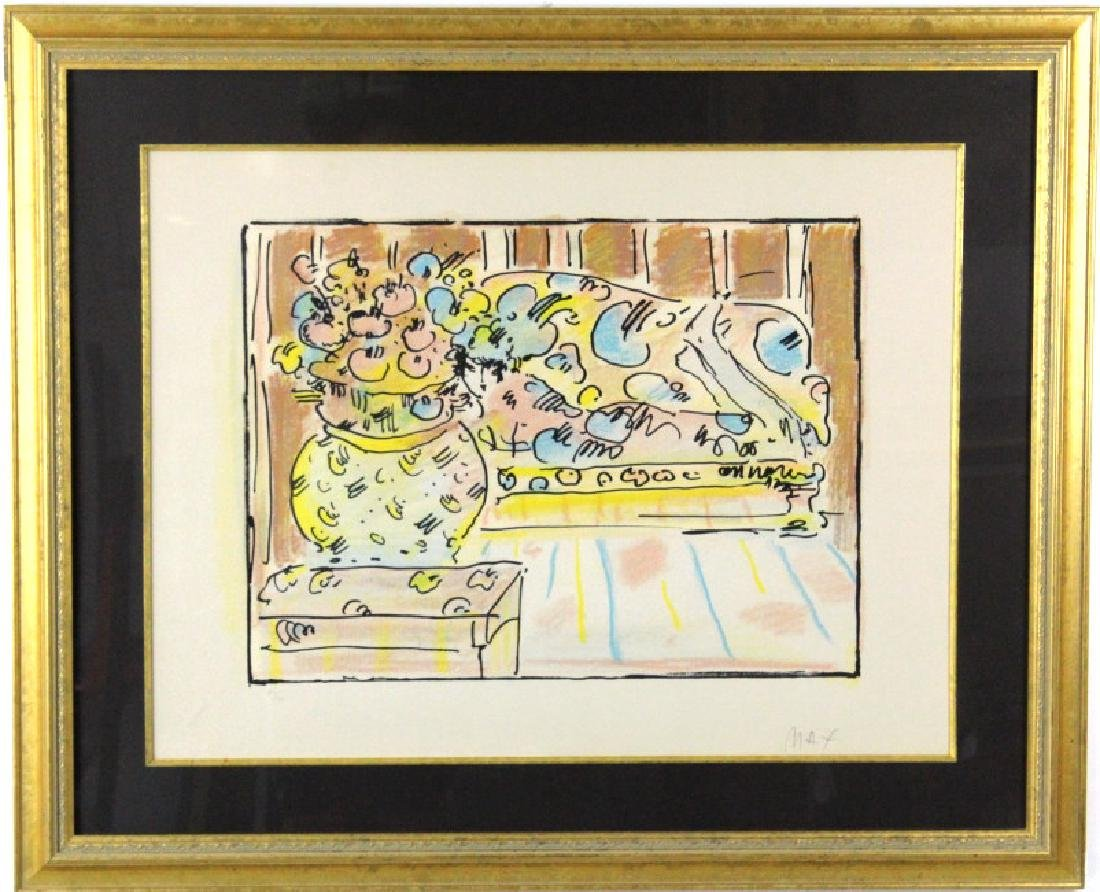 Pencil Signed PETER MAX Limited Edition Lithograph - 2