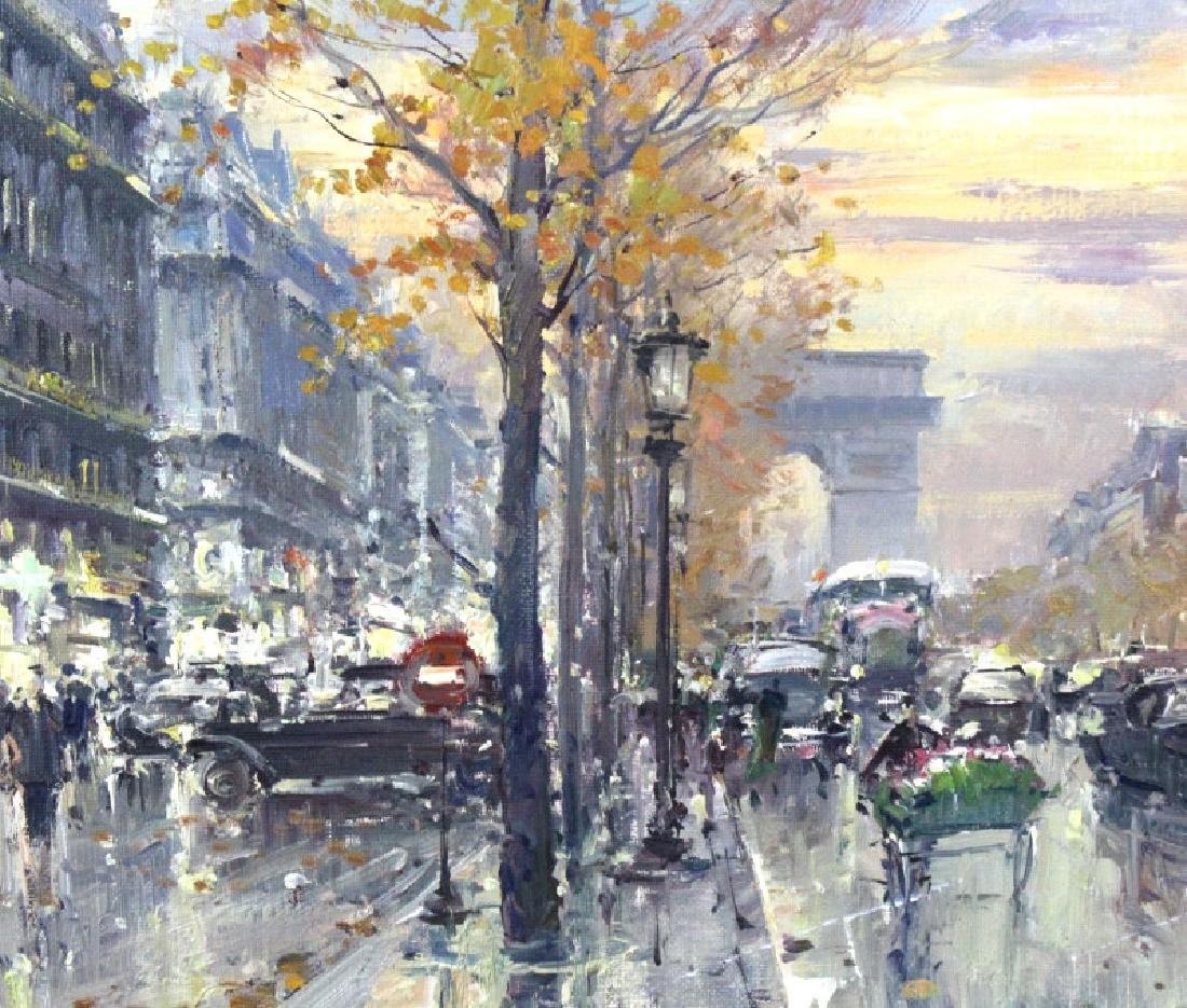 Jean Salabet French Landscape Oil Canvas Painting - 4
