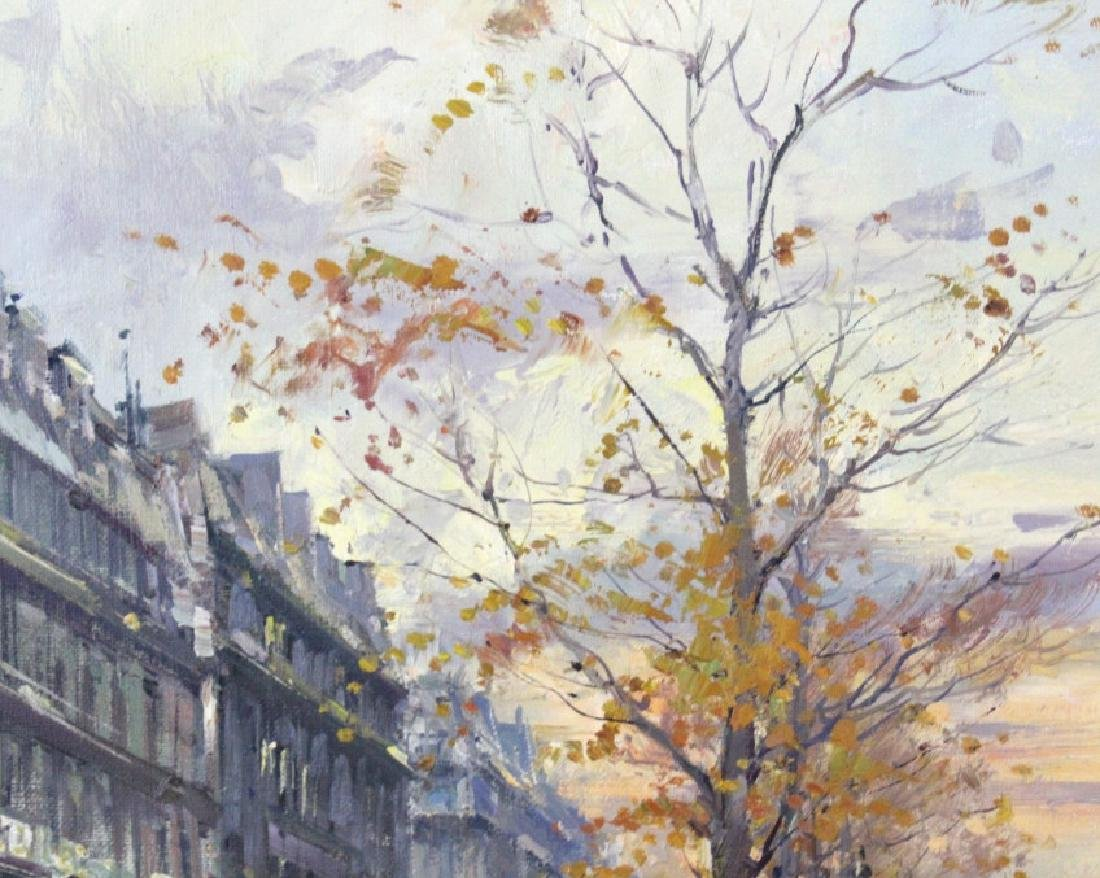 Jean Salabet French Landscape Oil Canvas Painting - 5