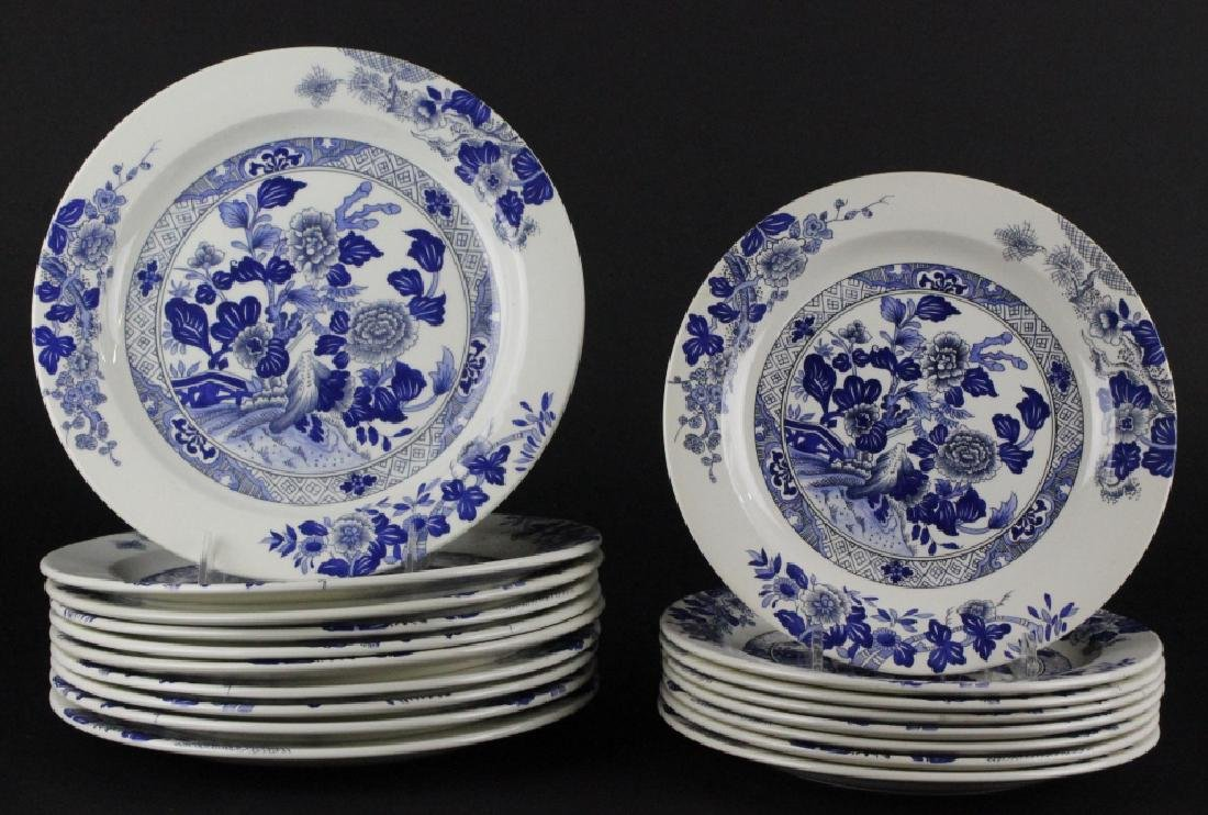 Tiffany & Co Peony Porcelain Lunch & Dinner Plates