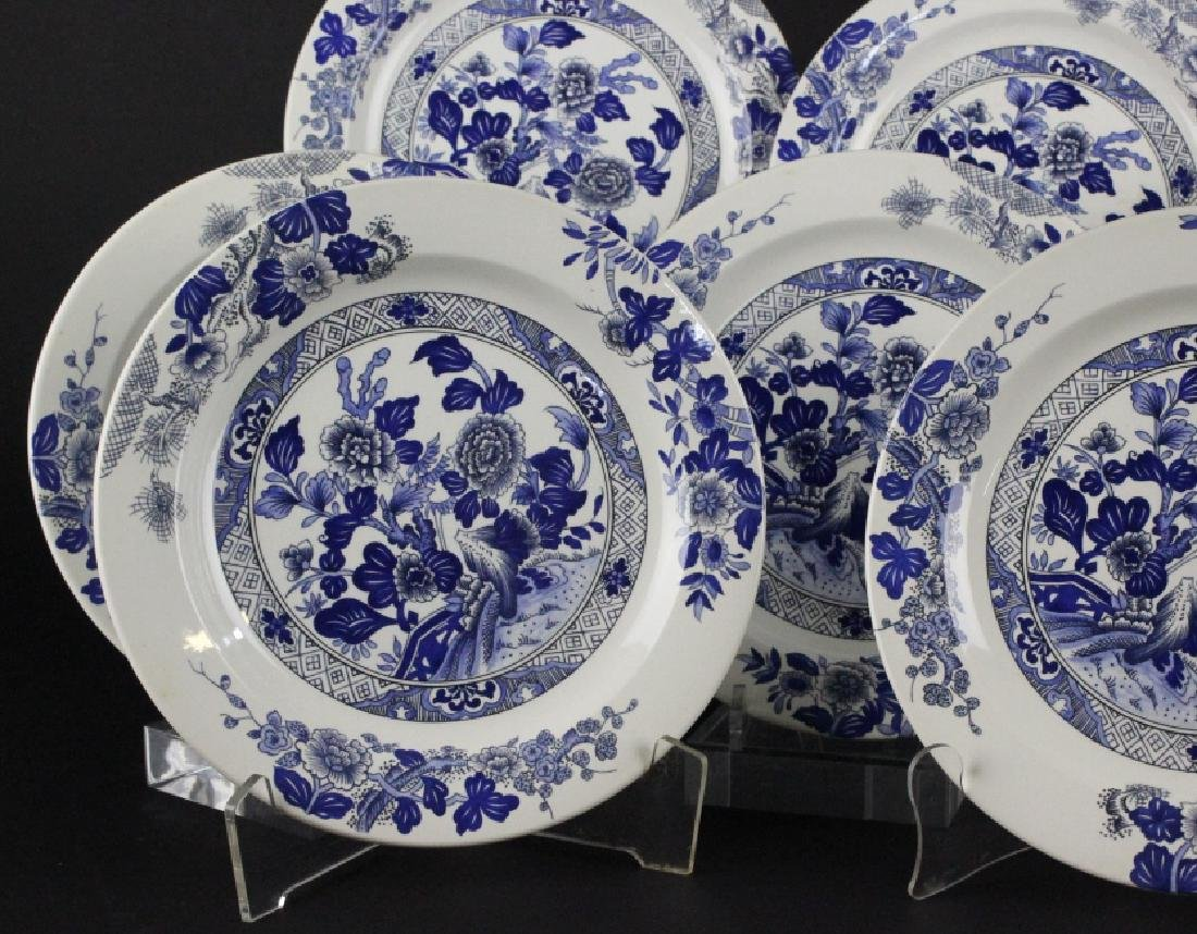 Tiffany & Co Peony Porcelain Lunch & Dinner Plates - 3