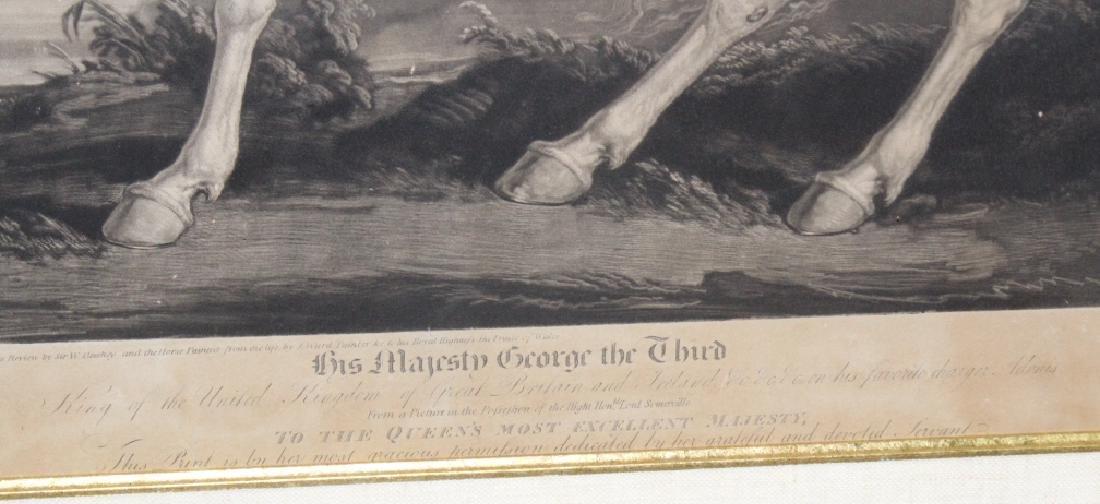 J. Ward 19th Century Engraving Majesty George III - 3
