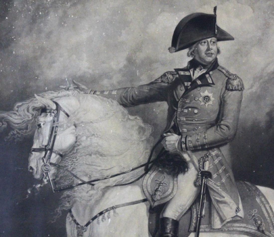 J. Ward 19th Century Engraving Majesty George III - 4
