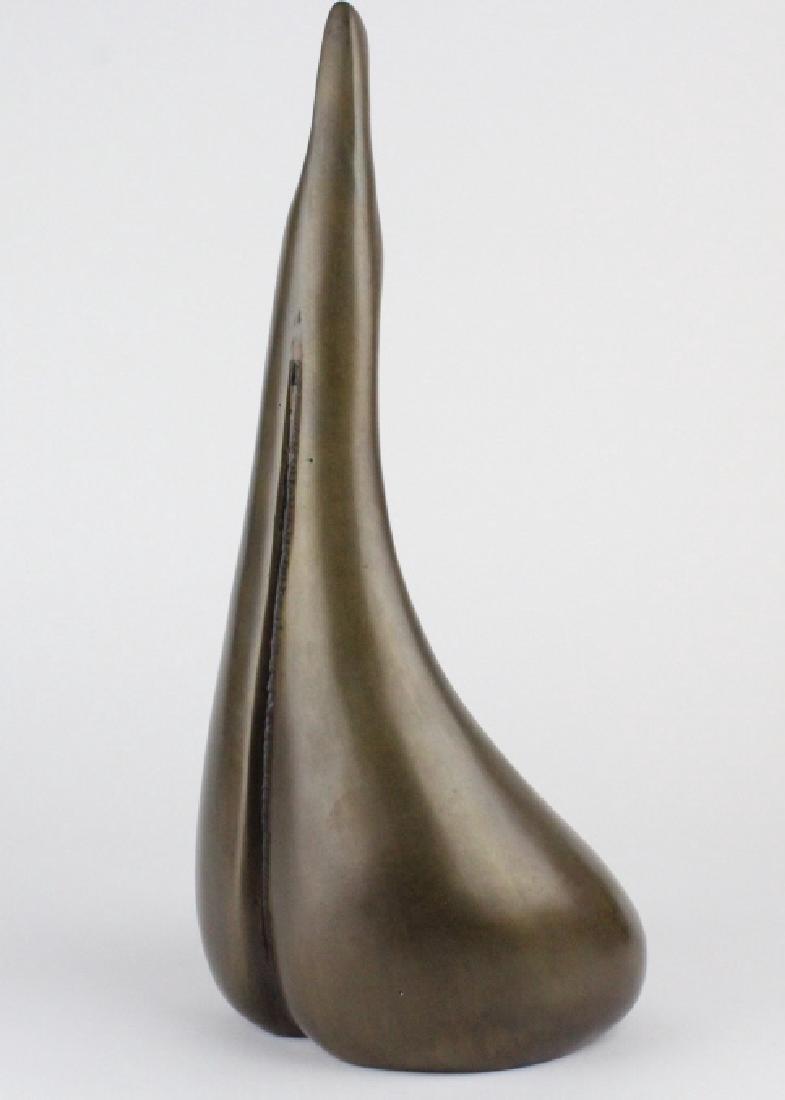 AHARON BEZALEL Mother & Child Bronze Art Sculpture - 7
