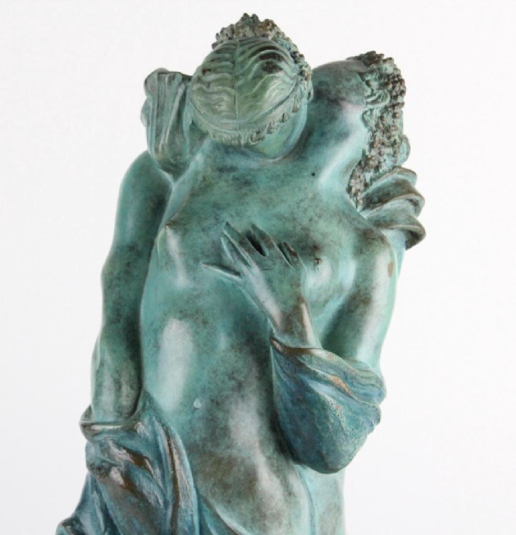 ALBA GONZALES Italian Lovers Cast Bronze Statue - 2
