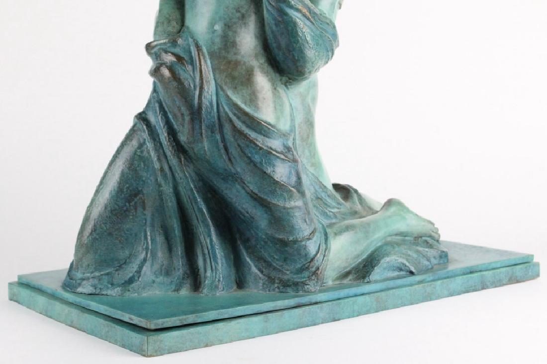 ALBA GONZALES Italian Lovers Cast Bronze Statue - 3