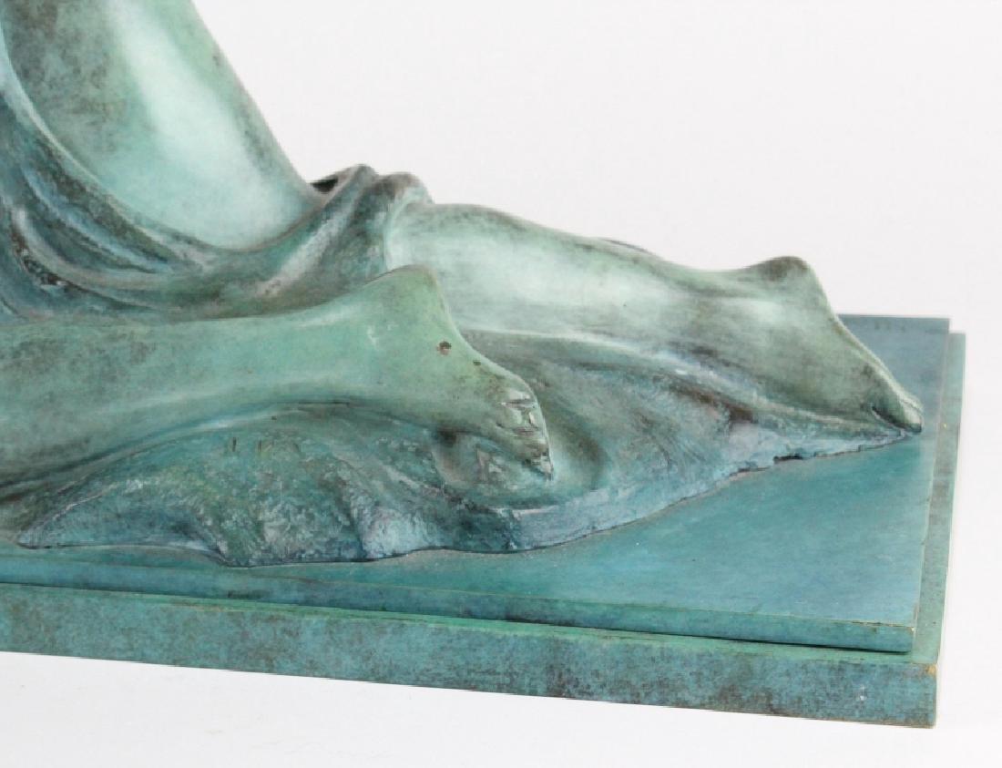 ALBA GONZALES Italian Lovers Cast Bronze Statue - 5