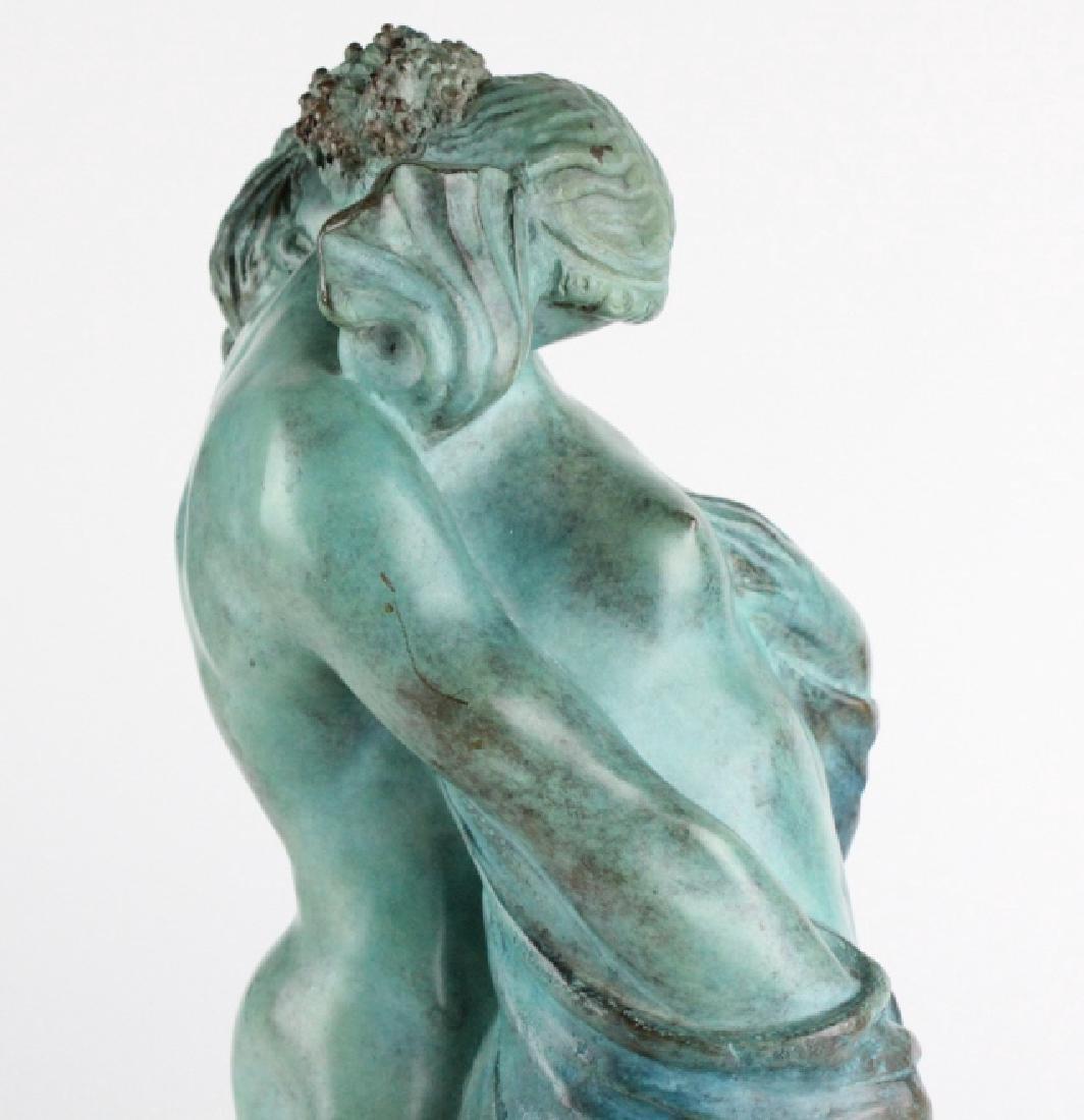 ALBA GONZALES Italian Lovers Cast Bronze Statue - 9