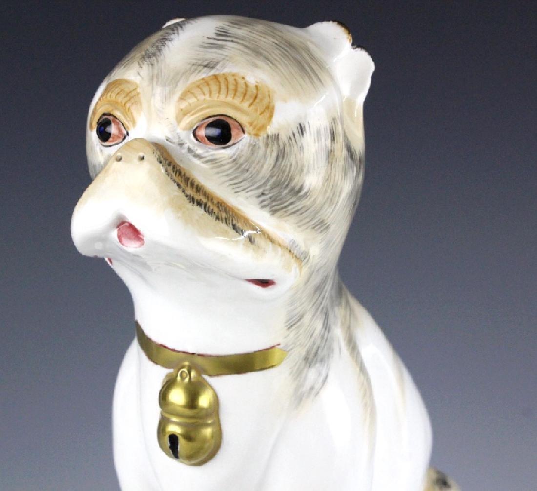 PAIR Sutherland Pug Dog English Porcelain Figurine - 3