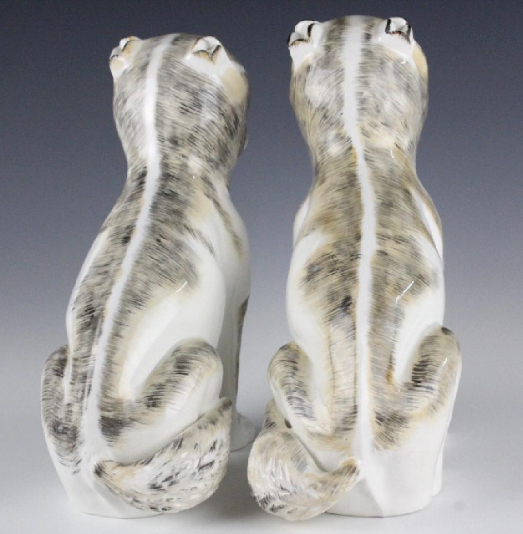 PAIR Sutherland Pug Dog English Porcelain Figurine - 4