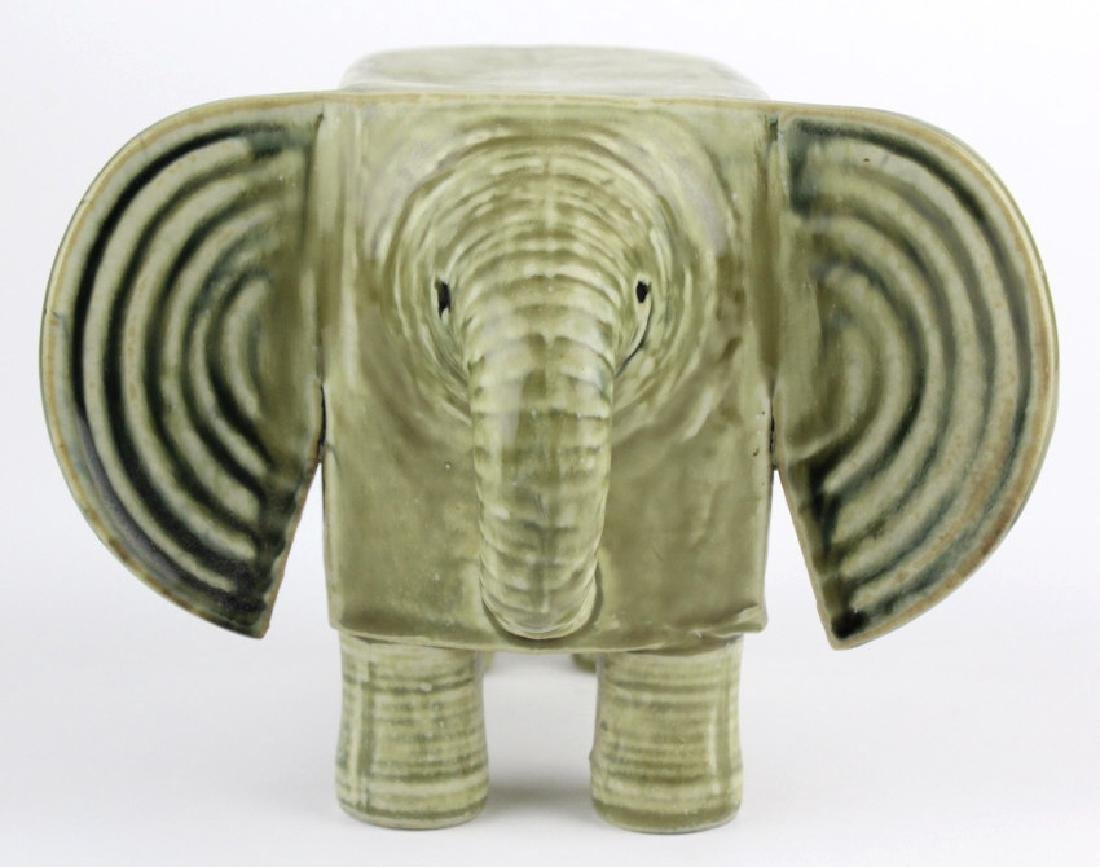 Lisa Larson Gustavsberg Art Pottery Zoo Elephant