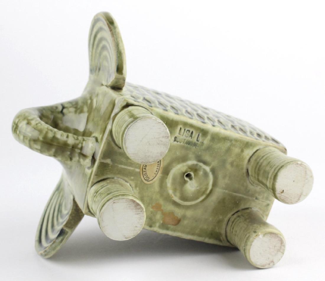 Lisa Larson Gustavsberg Art Pottery Zoo Elephant - 6