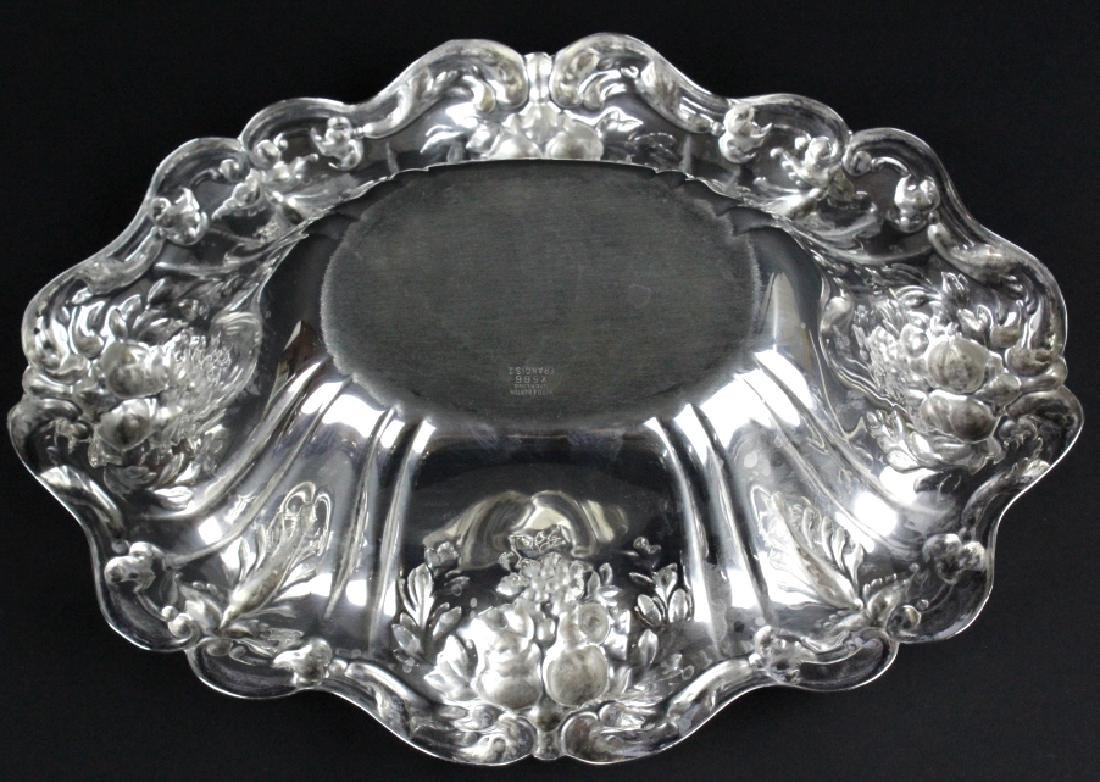 Reed & Barton Francis I Silver Oval Vegetable Bowl - 5