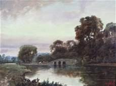 Alexander Nelke American Landscape Oil Painting