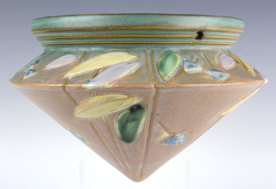 Roseville Pottery Futura 5 Hanging Planter 344 5