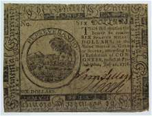 LOT of Pennsylvania, Connecticut Colonial Currency
