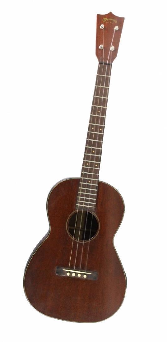 C.F. Martin Mahogany Acoustic Style 216 Guitar - 3