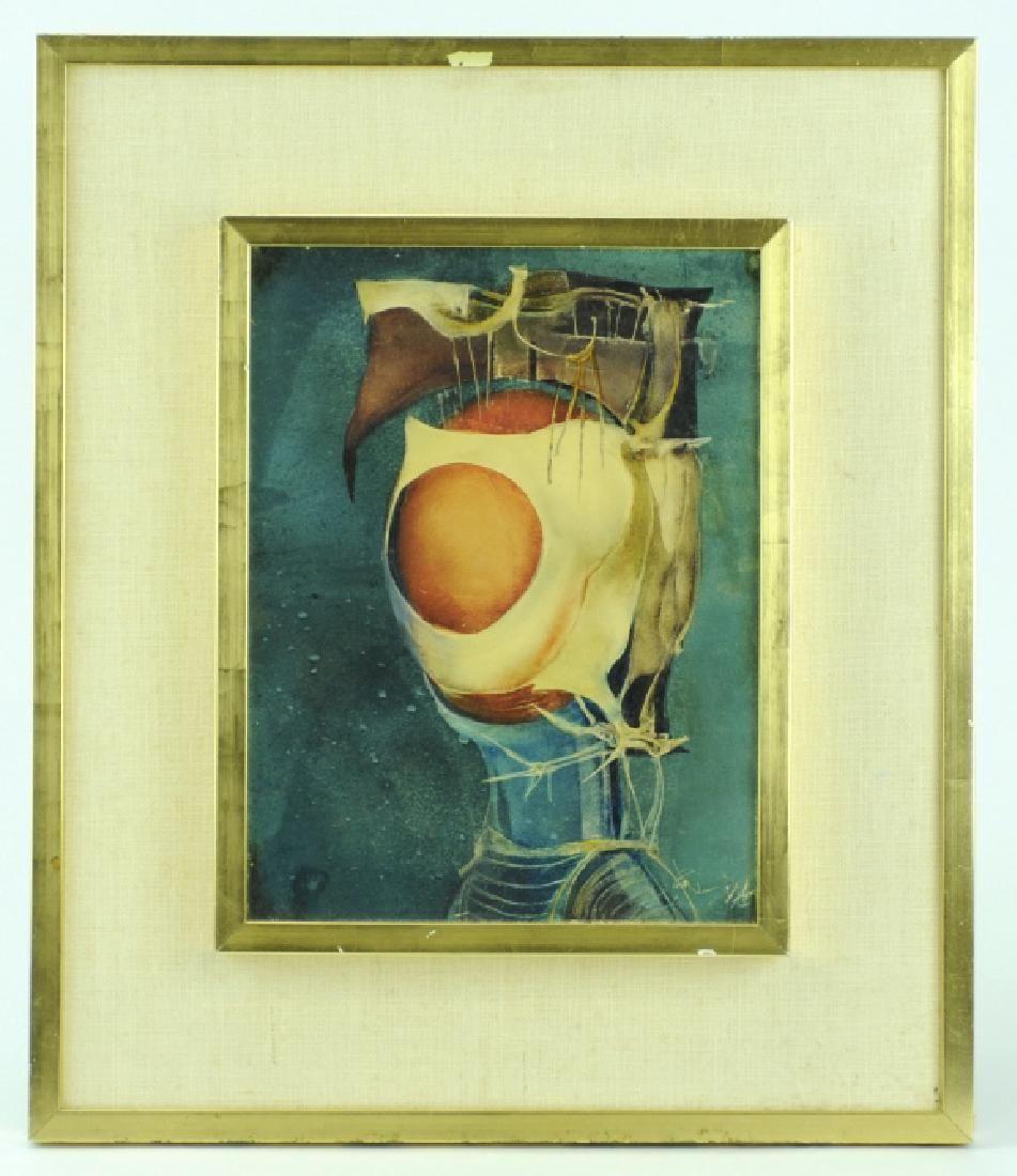 Endre Szasz After The Battle Surreal Oil Painting
