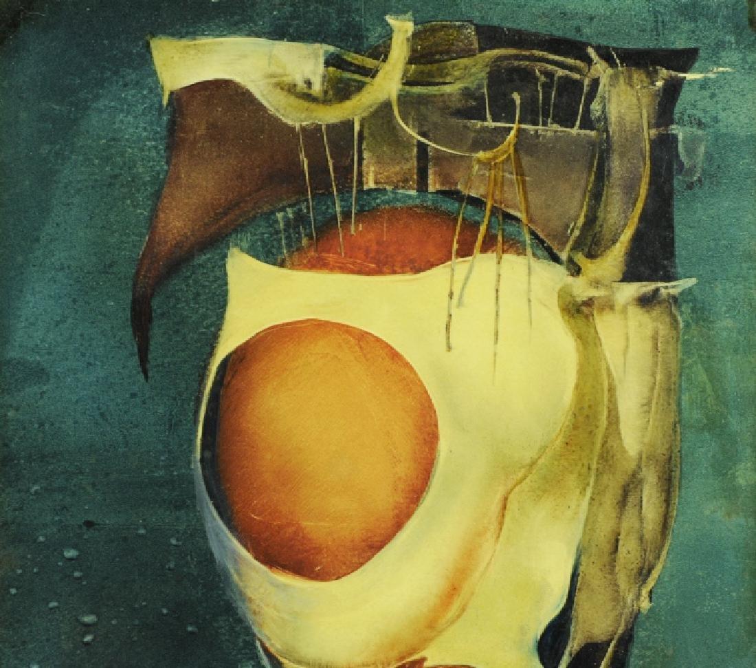 Endre Szasz After The Battle Surreal Oil Painting - 3