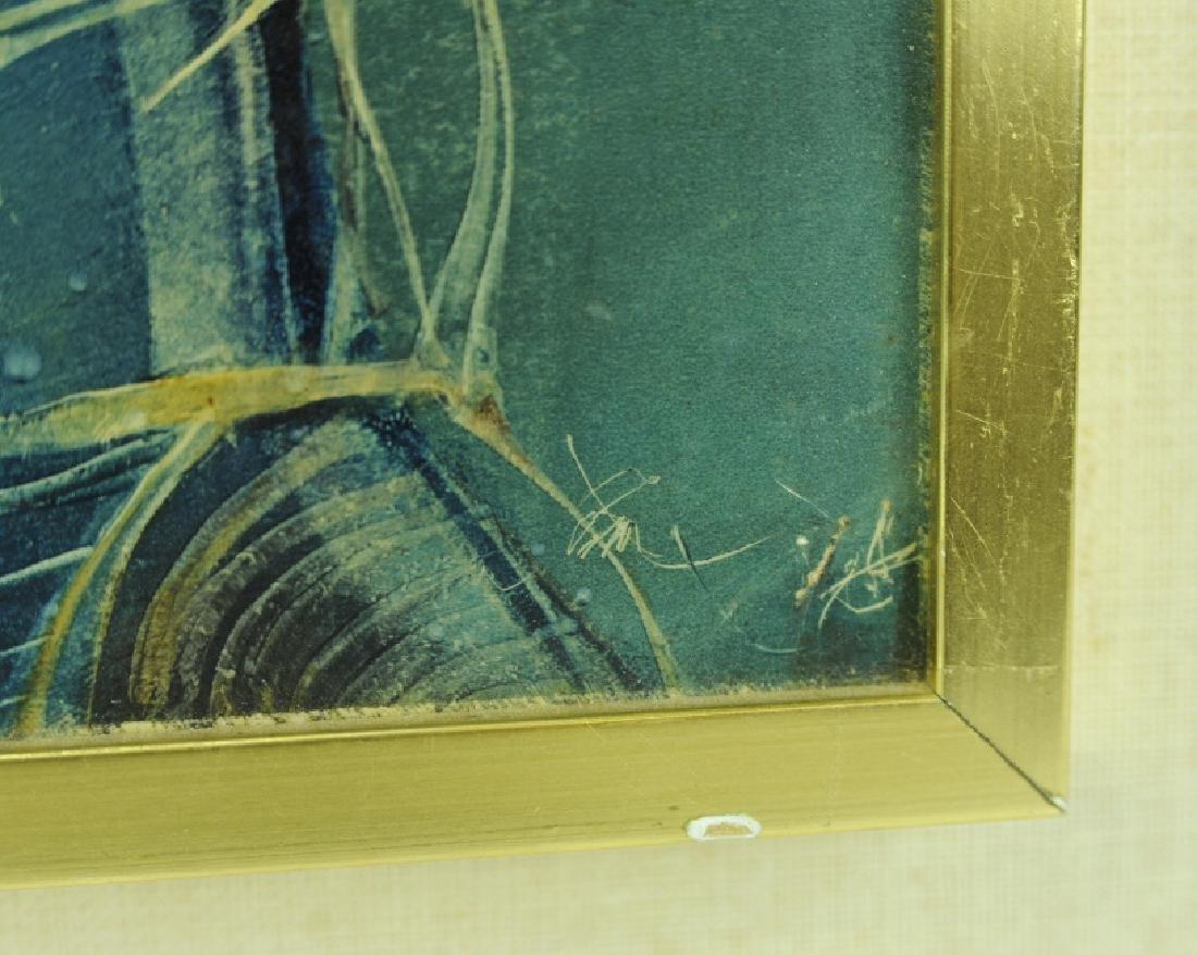 Endre Szasz After The Battle Surreal Oil Painting - 5
