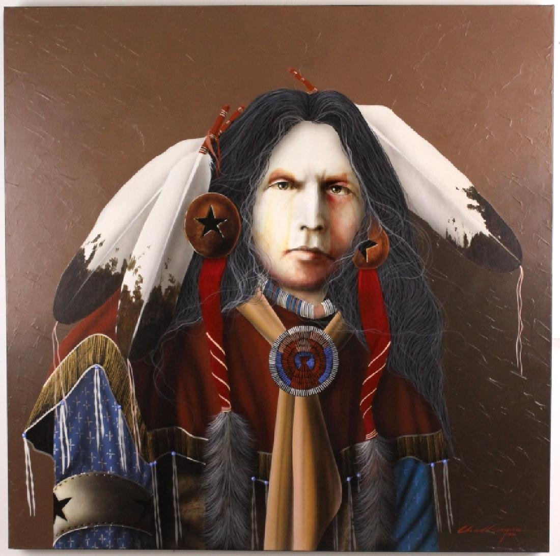 J.D. Challenger American Indian Painting