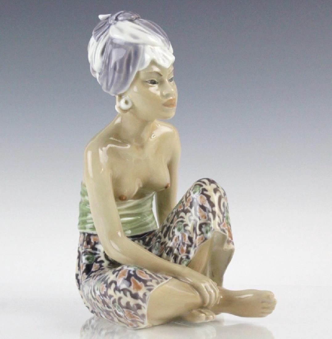 Dahl Jensen Porcelain Bali Woman w/ Turban #1136