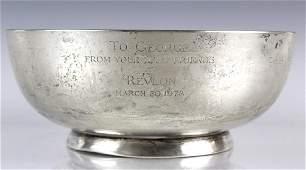 Vintage Cartier Preisner Sterling Silver Bowl