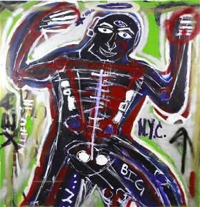 Ernest Rosenberg 1975 Graffiti Street Art Painting