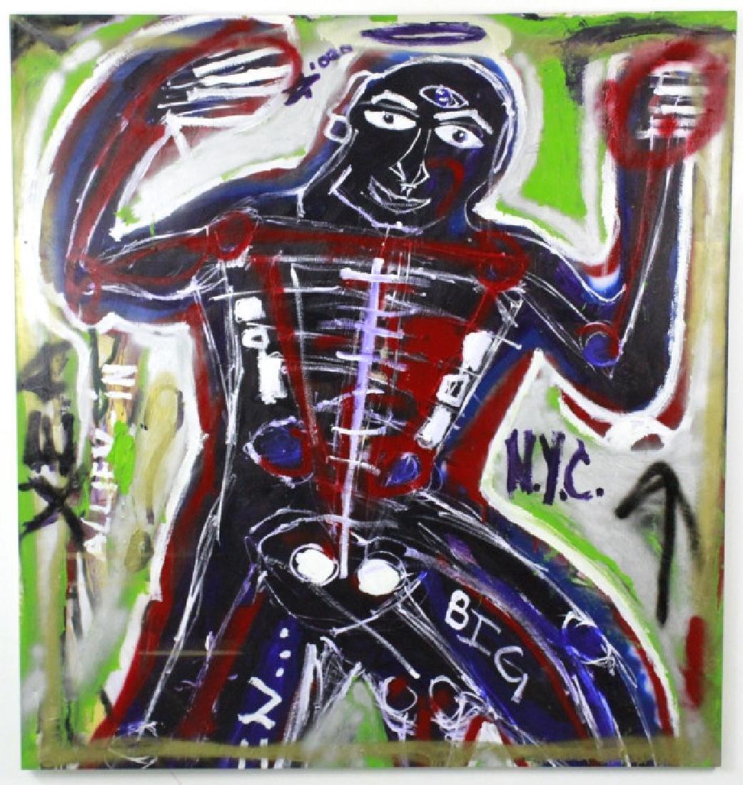 Ernest Rosenberg 1975 Graffiti Street Art Painting - 3