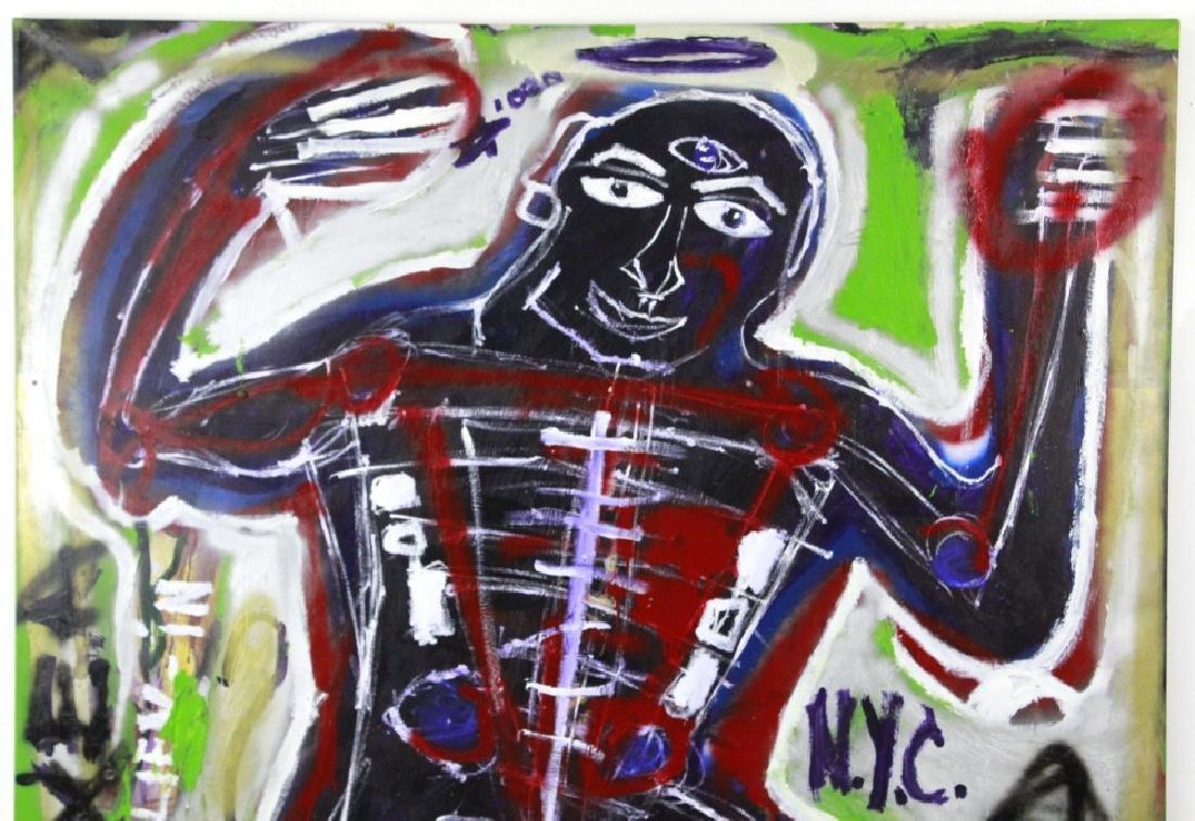 Ernest Rosenberg 1975 Graffiti Street Art Painting - 4