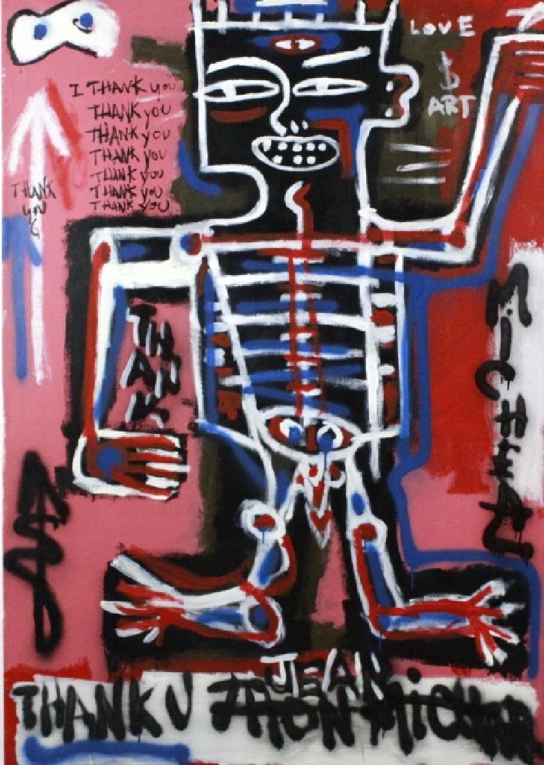 Ernest Rosenberg Graffiti Street Art Oil Painting