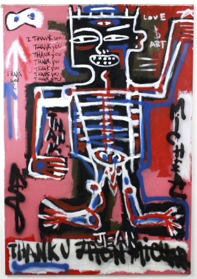 Ernest Rosenberg Graffiti Street Art Oil Painting - 2