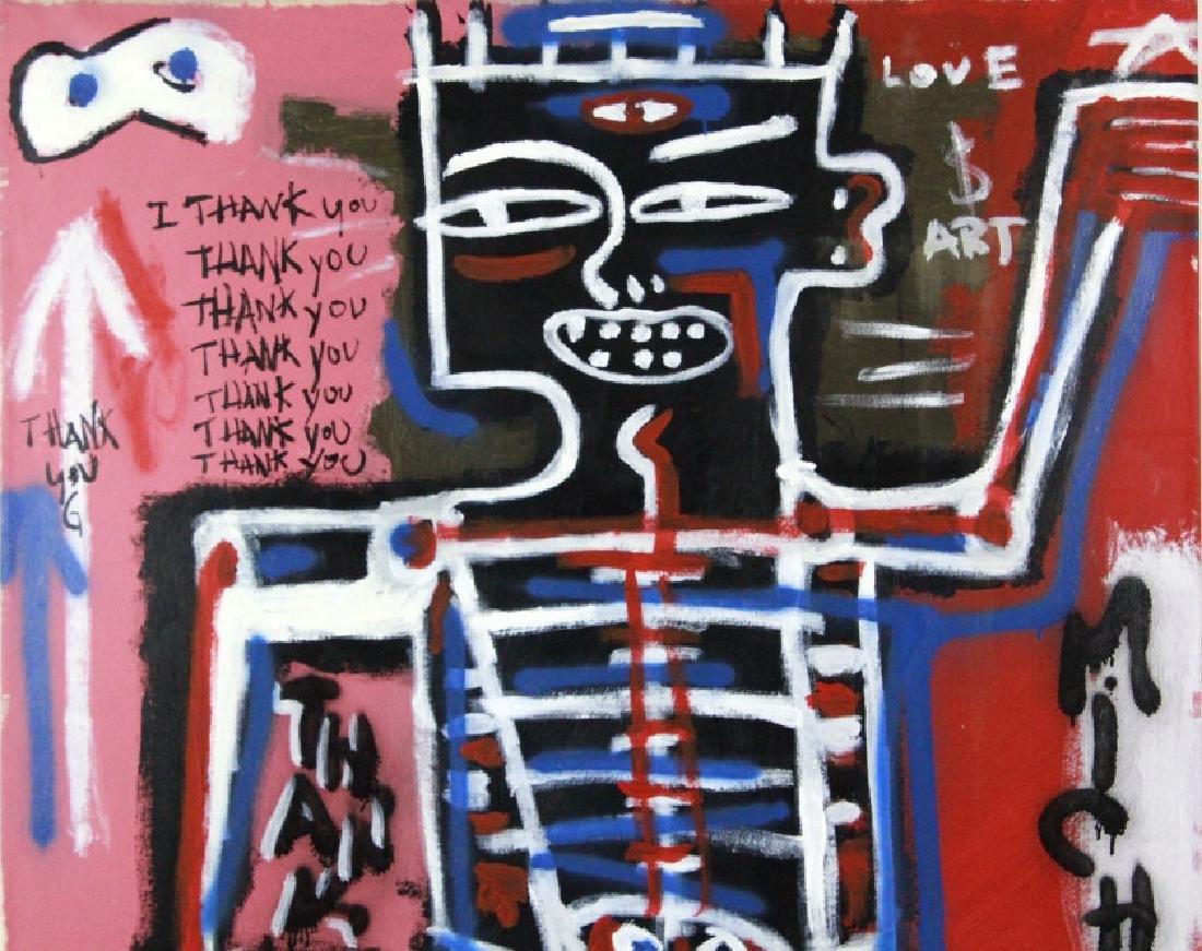 Ernest Rosenberg Graffiti Street Art Oil Painting - 3