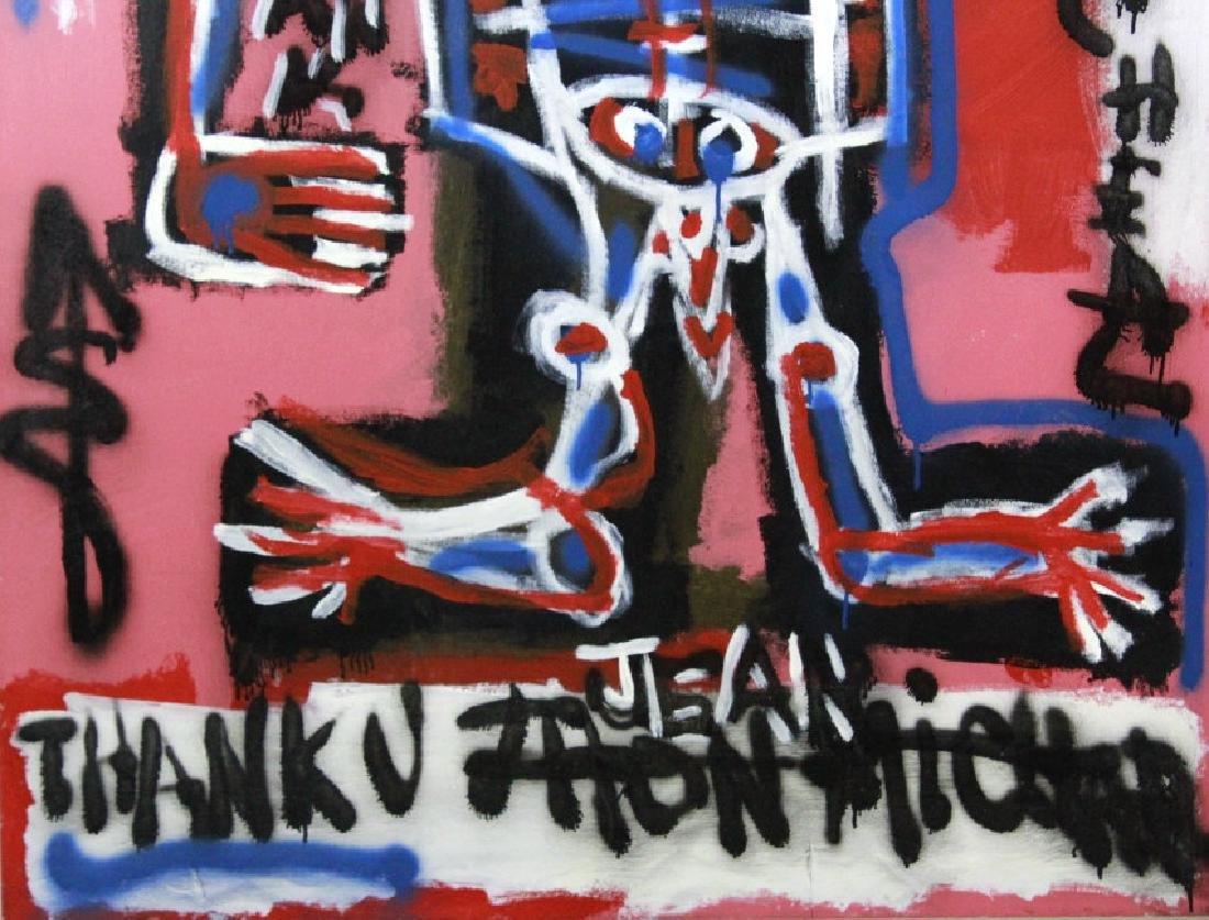 Ernest Rosenberg Graffiti Street Art Oil Painting - 4