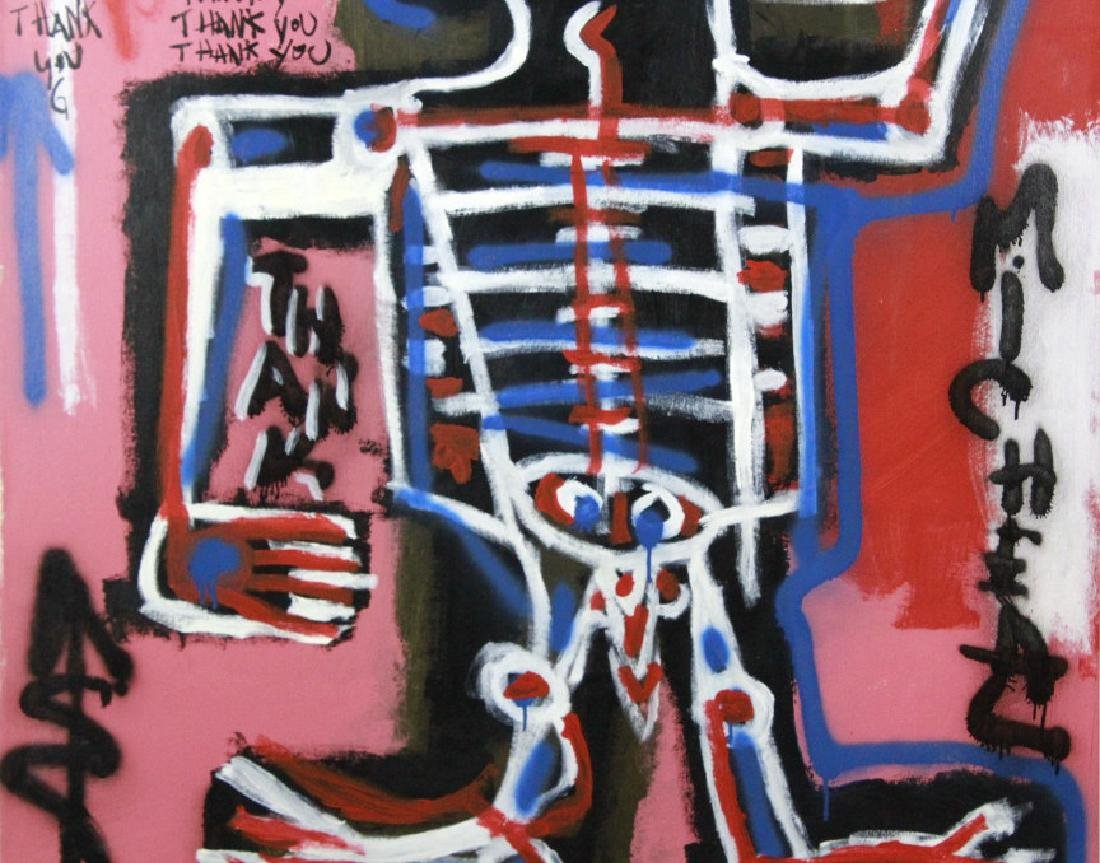 Ernest Rosenberg Graffiti Street Art Oil Painting - 5