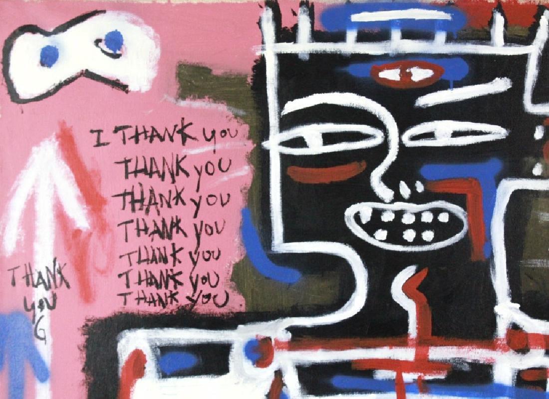Ernest Rosenberg Graffiti Street Art Oil Painting - 6