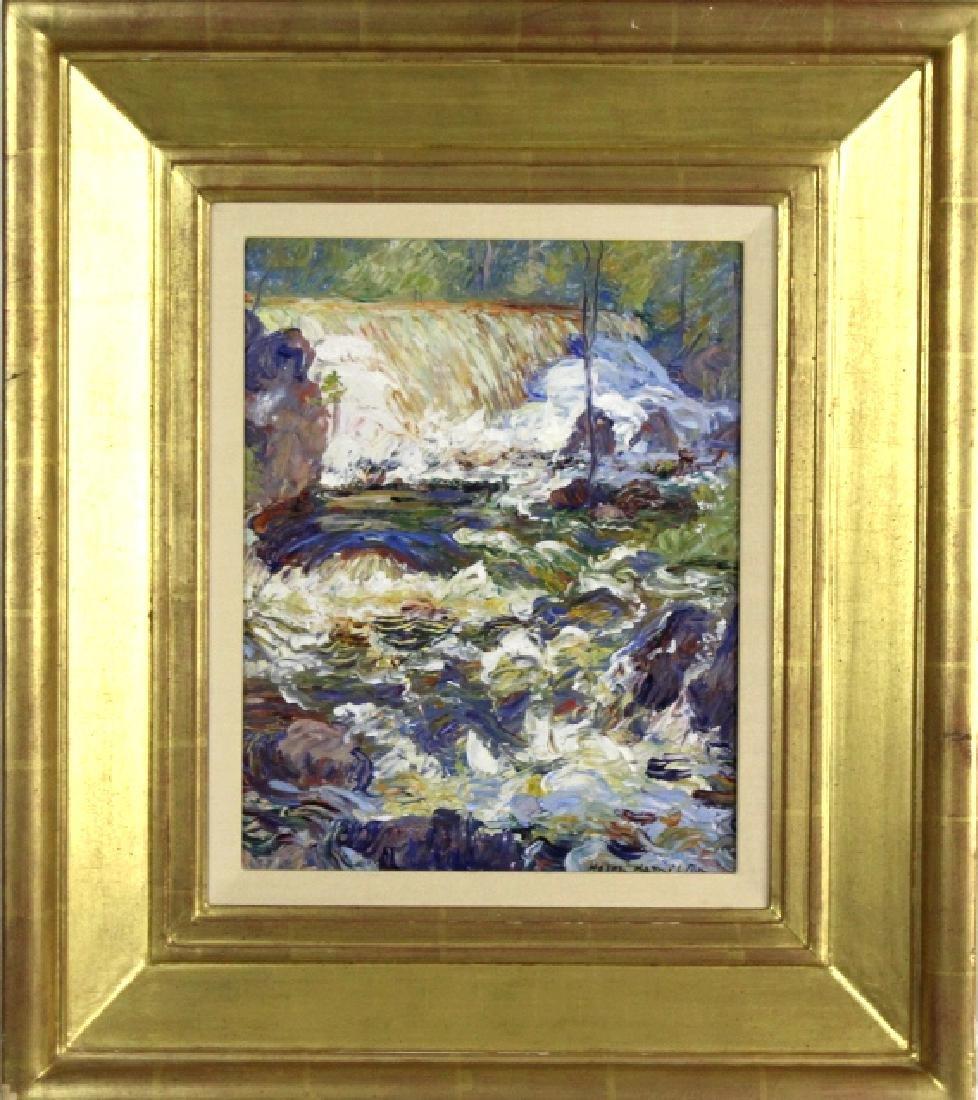 Helen Hamilton Impressionist Landscape Painting