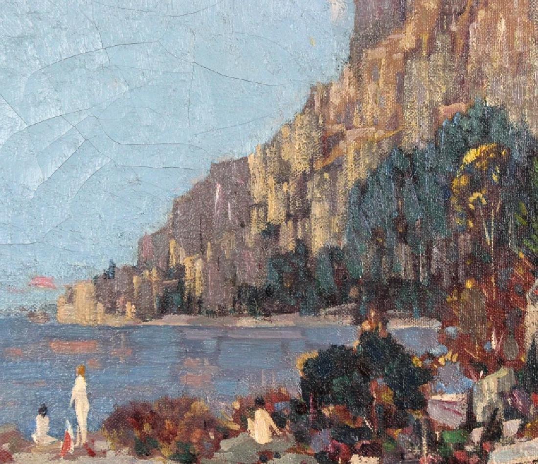 Gustave Cimiotti Jr. Lake Landscape Oil Painting - 4