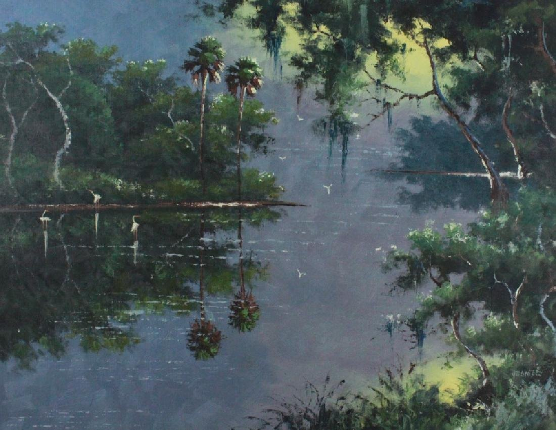 Willie Daniels FL Highwaymen Landscape Painting - 2