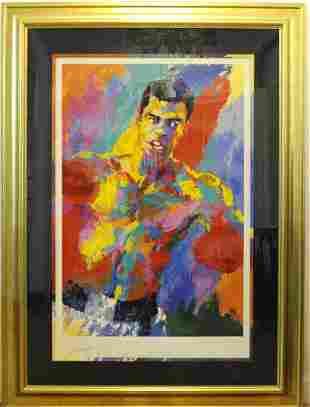 Muhammed Ali LeRoy Neiman L/E Athlete of Century