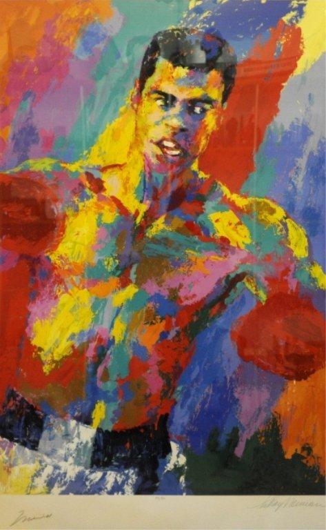 Muhammed Ali LeRoy Neiman L/E Athlete of Century - 2