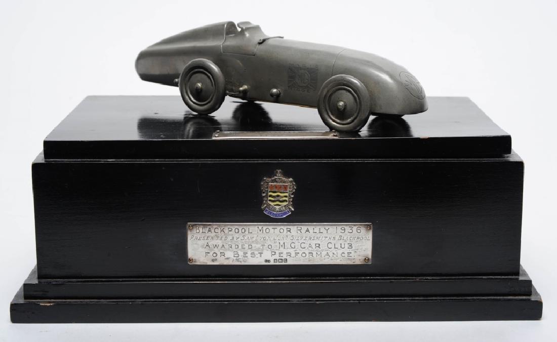 Blackpool Motor Rally c 1936 Car Race Trophy RARE
